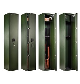 Waldberg Gun cabinet for 6 long guns with A2P key