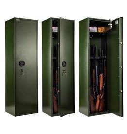 Waldberg Gun cabinet for 10 long guns with A2P key