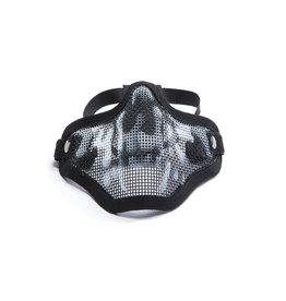 ASG Strike Systems Mesh Mask Mesh Mask with Skull - BK