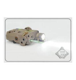 FMA Peq LA-5 light / IR laser module V2 upgrade version - TAN
