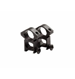 ASG 25mm ZF High Mount Rings - BK