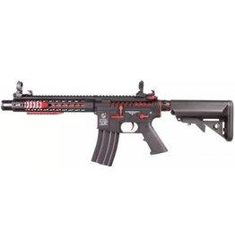 Cybergun Colt M4A1 Blast Fox Mosfet QSC AEG - 1,2 Joule - Rot