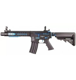 Cybergun Colt M4 Blast Fox Mosfet QSC AEG - 1,2 Joule - Blau