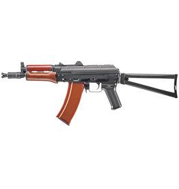 Cybergun AKS-74U Kalashnikov AEG - 1,49 Joule - Echtholz