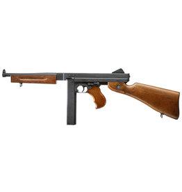 Cybergun M1A1 Thompson AEG  1,0 Joule - Holzoptik
