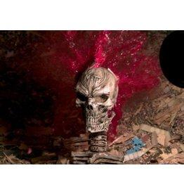 MonsterTargets 3D Demon Skull Bleeder Target made of rigid foam