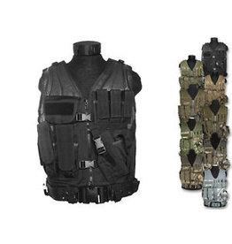 Mil-Tec USMC combat vest with belt - different colors