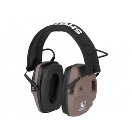 RealHunter Active ProSHOT BT active hearing protection - TAN