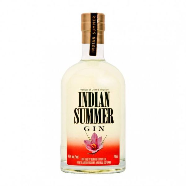 Indian Summer saffron gin