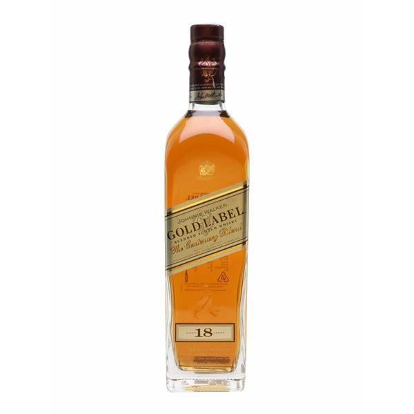 Johnnie Walker gold label 18Y
