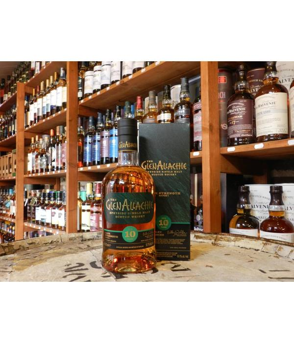 Glenallachie 10Y cask strenght