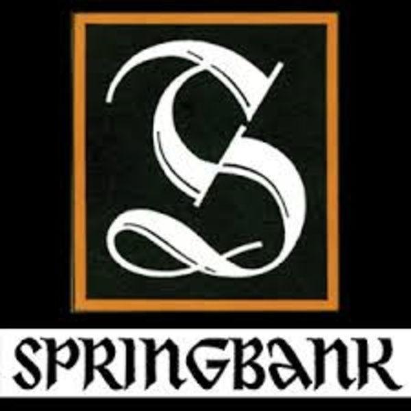Springbank Tasting 28 november