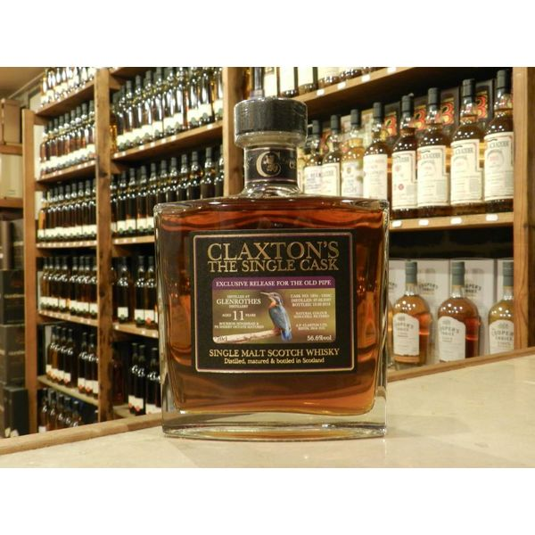 Glenrothes 11Y exclusive release for The Old Pipe