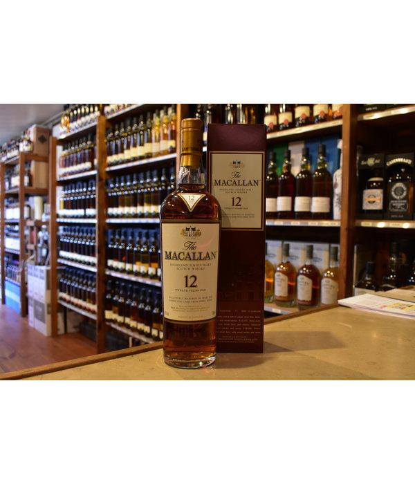 Macallan 12Y sherry oak