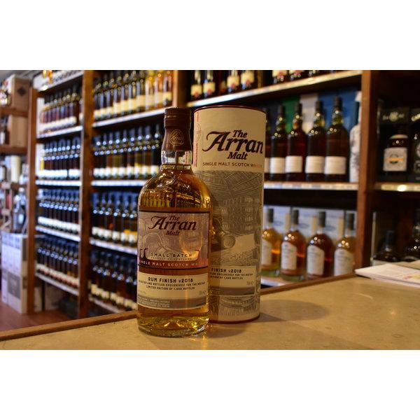 Arran Rum finish V2018