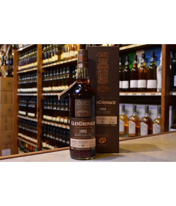 Glendronach 1992 Oloroso sherry butt