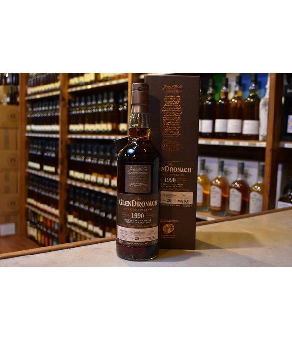 Glendronach 1990 PX sherry puncheon