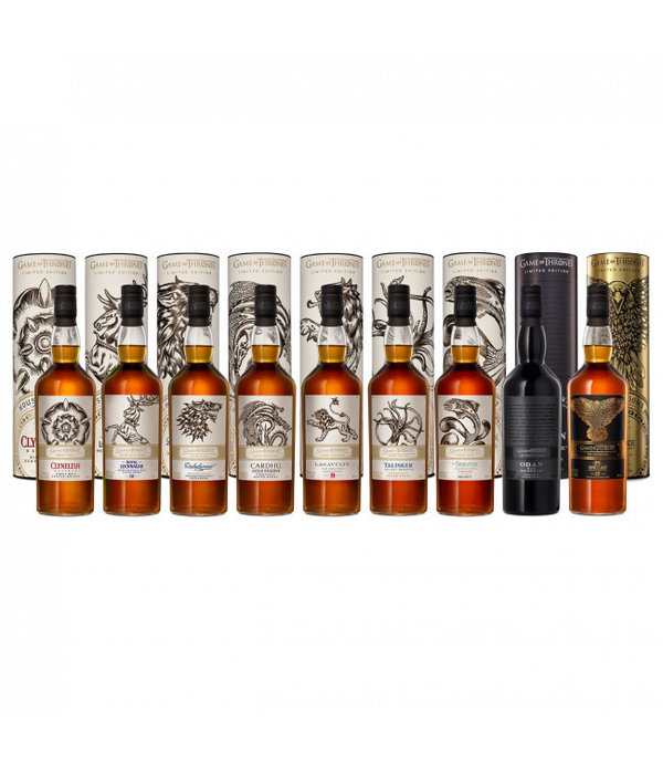 Game of Thrones - Complete Set + Mortlach 15Y