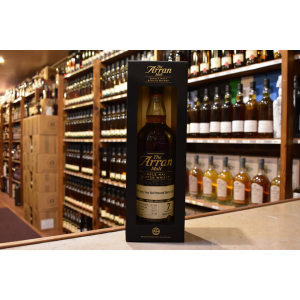 Arran 7Y very well matured sherry cask
