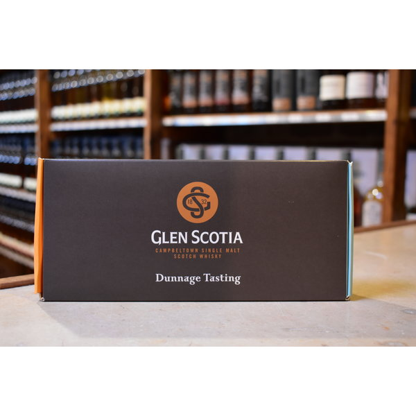 Glen Scotia Dunnage tasting pack 5x2,5cl