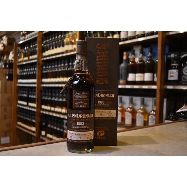 Glendronach 27Y Oloroso sherry puncheon
