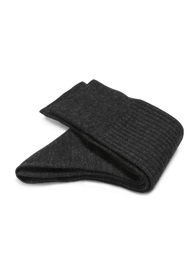 Wool rib sock