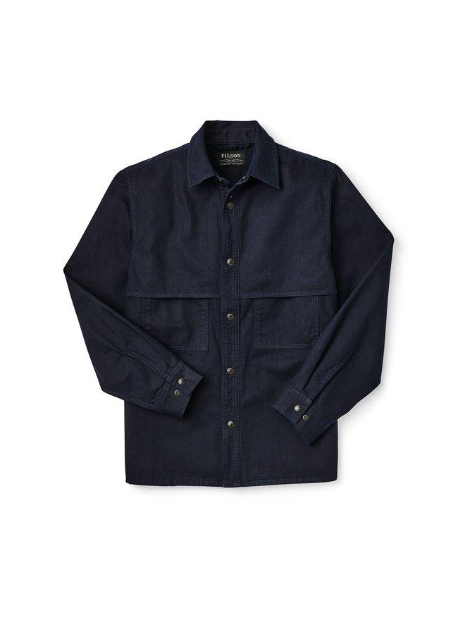Herringbone Jac-Shirt