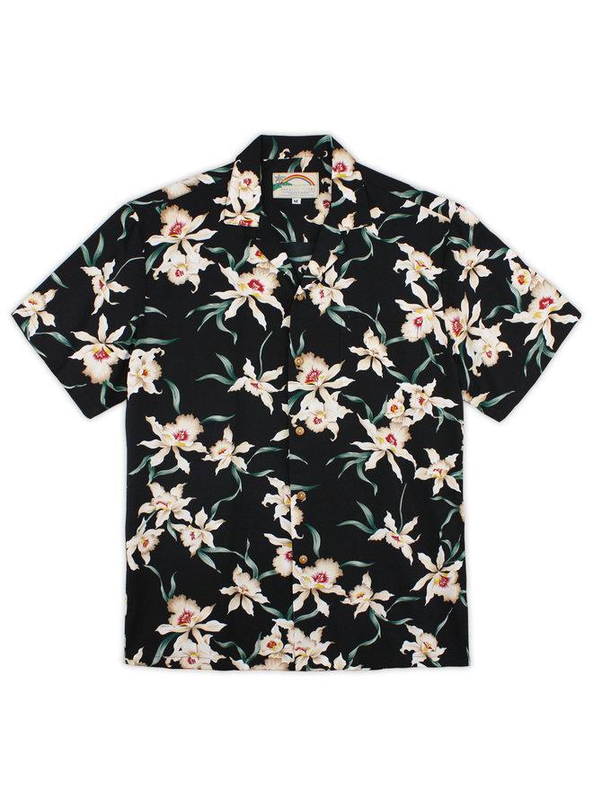 Star Orchid Hawaiian Aloha Shirt