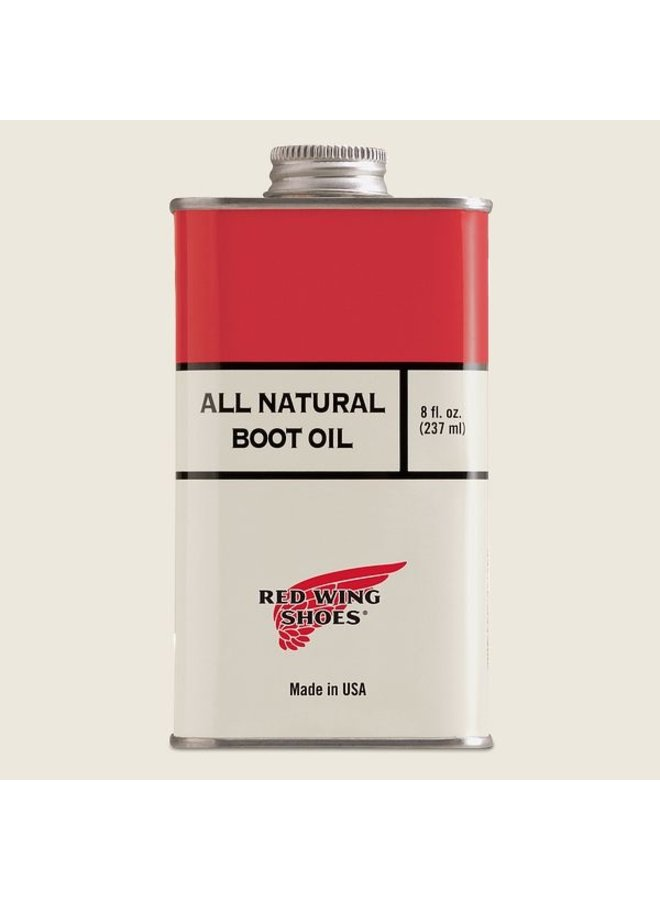 Boot oil, all natural