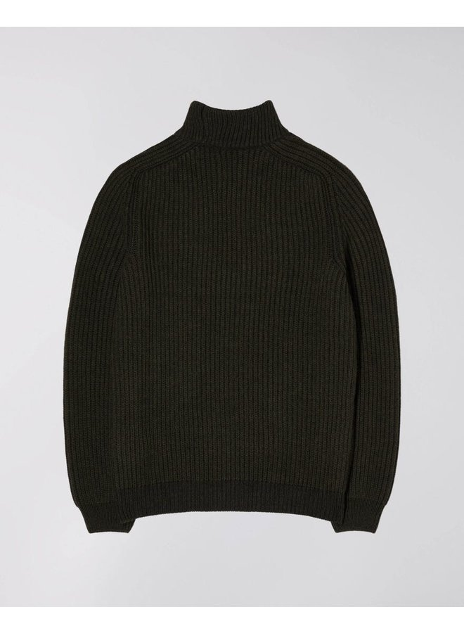 Roni High Collar Sweater Knit Blended Wool