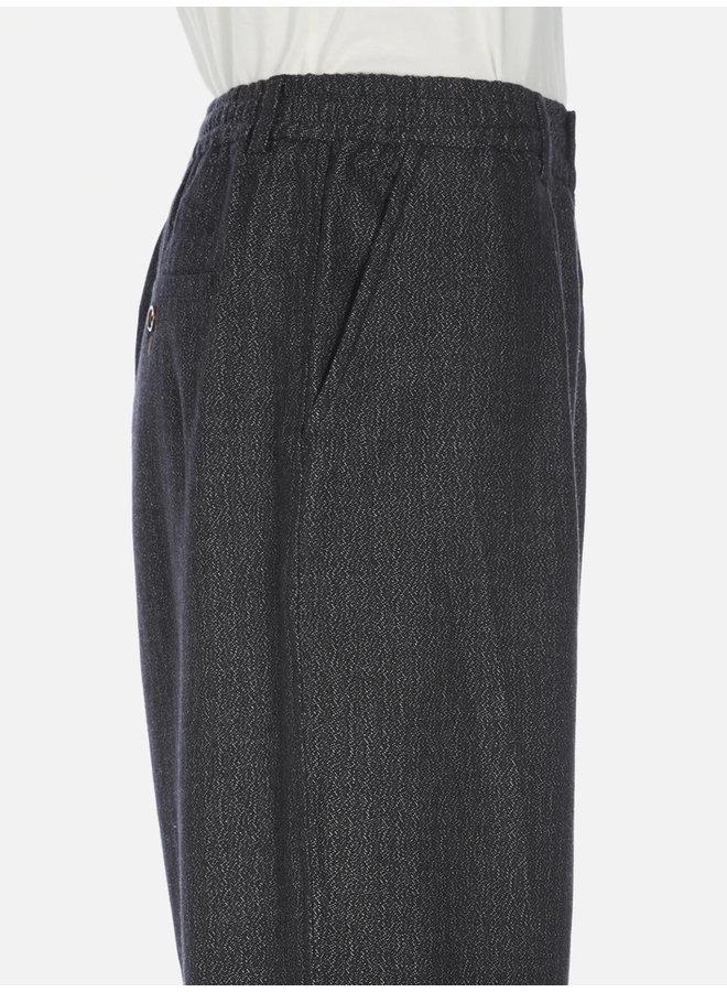 Pleated track pants