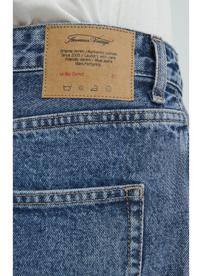 5 poches le big carrot. (5 pocket jeans)