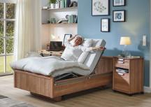 Das Bild zeigt das Komfort- und Pflegebett BonCasa