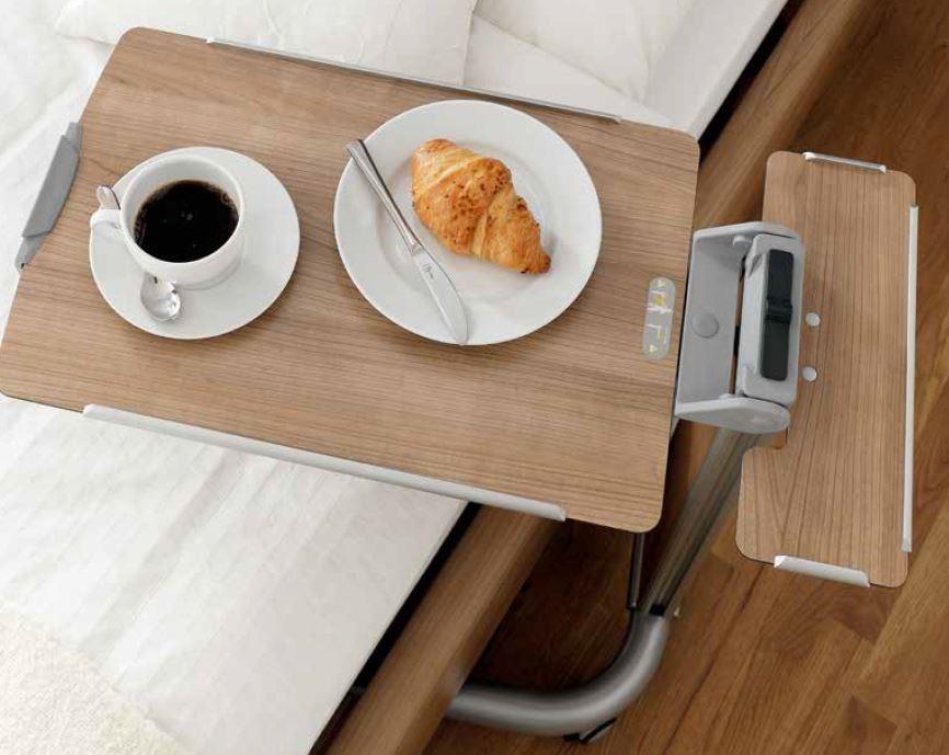 Wohnliches Design Tablettwagen