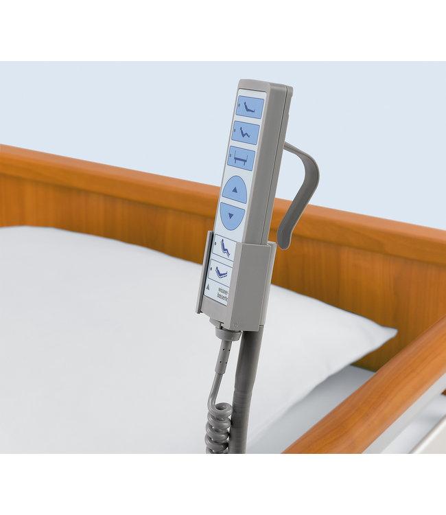 Handschalterhalter zur Anbringung an der Seitenlehne