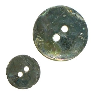 Mother of Pearl Buttons Grey x5 Various Sizes