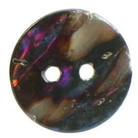 Mother of Pearl Buttons Brown x5 Various Sizes