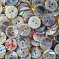 Mother of Pearl Buttons White x5