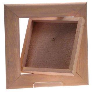 Frame with Back Box 15x15cm (21x21cm Exterior)