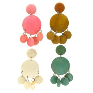 Coco Disc Earring