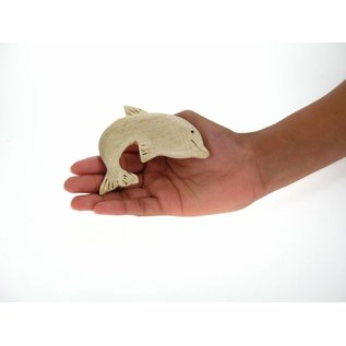 Wooden Dolphin 10cm.