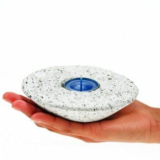 Pumice UFO Candle Holder