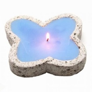 Pumice Butterfly candle