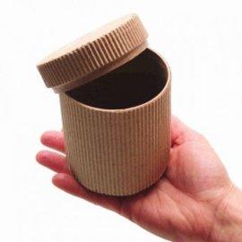 Paper Box, Ribbed