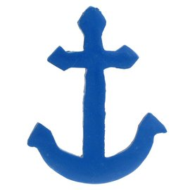 Painted Ship Anchor 8cm Flatback