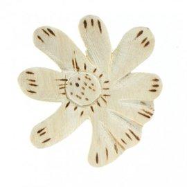 Wooden flower.