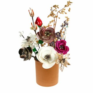 Assorted 45cm Flowers from Shells x10
