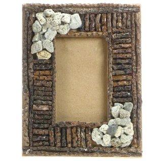 Pumce and Pebble Frame 6x4cm