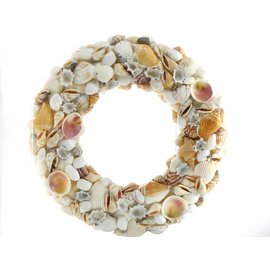 25cm Wreath with Shells