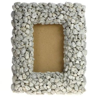 Pumice Pebble Frame 6x4cm with 50mm frame